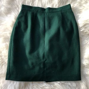 United Colors of Benetton green pencil skirt, 44